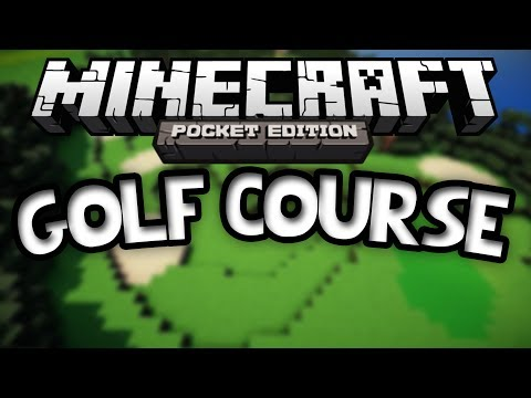 GOLFIN in MCPE Golf Course Custom Map Minecraft Pocket Edition