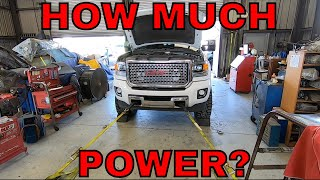 HOW MUCH POWER IS THIS TRUCK REALLY MAKING ON THE DYNO?