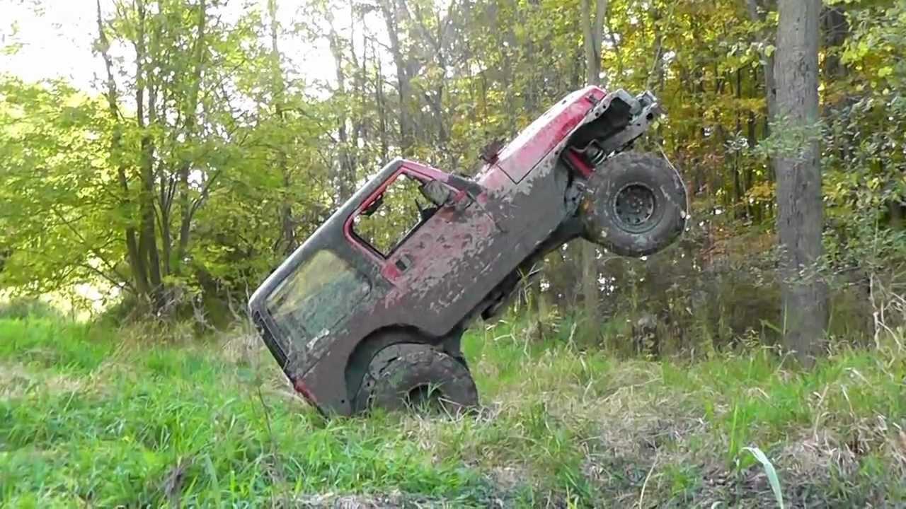 Jeep TJ Winch Hang (Part 1) HD - YouTube