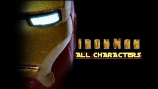ALL IRON MAN MOVIE CHARACTERS IN LEGO MARVEL GAMES - MicRo CouZ