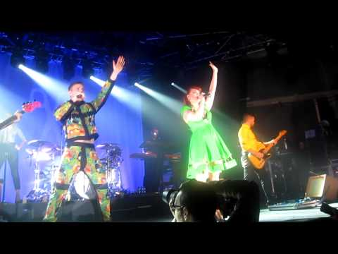 Scissor Sisters - Any Which Way / Keep Your Shoes On (Live @ La Riviera 28/10/2012 Madrid)