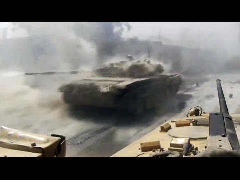 ᴴᴰ Tanks with GoPro's™ ♦ Taking Rebel strongholds in Jobar Syria ٭٭subtitled٭٭