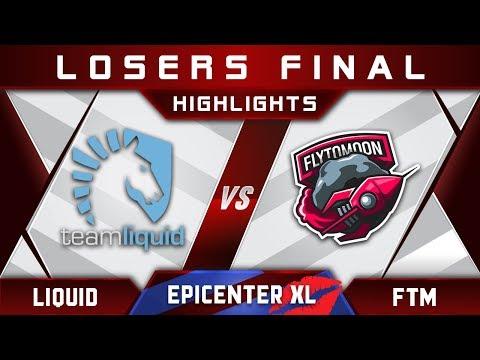 Liquid vs FTM FlytoMoon LB Final EPICENTER XL Major 2018 Highlights Dota 2