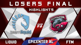 Liquid vs FTM FlytoMoon LB Final EPICENTER XL Major 2018 Highlights Dota 2