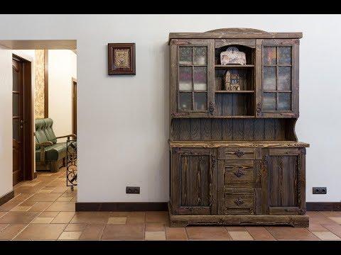 Как сделать шкаф под старину