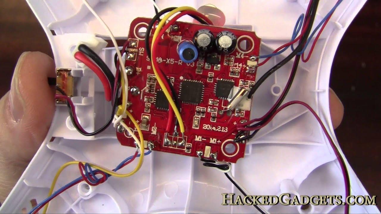 Syma X5c-1 Remote Quadcopter Teardown