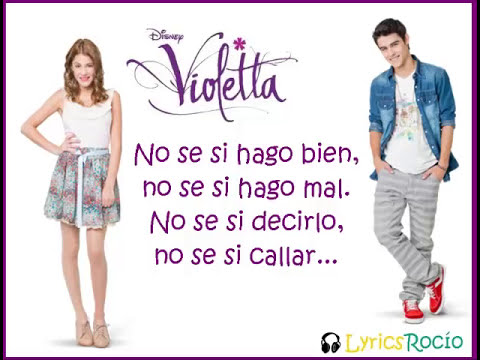 Te creo - Violetta - Lyrics