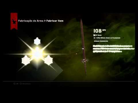DRAGON AGE INQUISITION - EXPLICANDO O CRAFT DE ARMAS E ARMADURAS