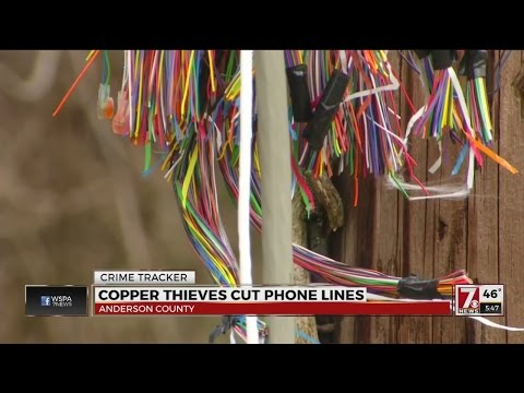 Copper Thieves Target Anderson Phone Lines