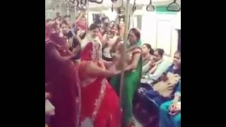 Better than flash mob hilarious dancing and singing by ladies inside metro