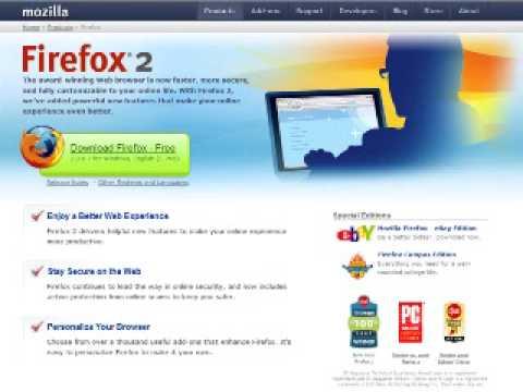 Video-aula: Tudo sobre o navegador Firefox - Parte 1 de 4
