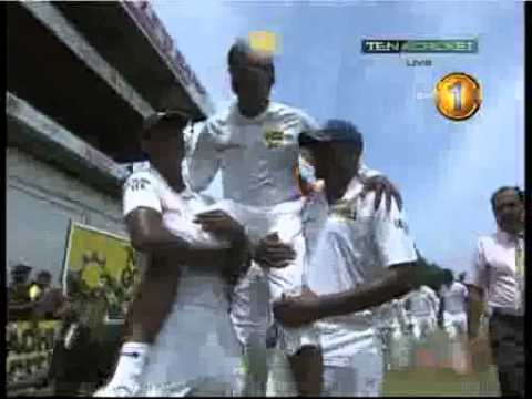Mahela Jayawardene last moment of Test Cricket newsfirst