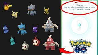 GEN 3 SHINY GHOST POKEMON LEAKED! + GENERATION 3 BADGE NOW AVAILABLE IN POKEMON GO!
