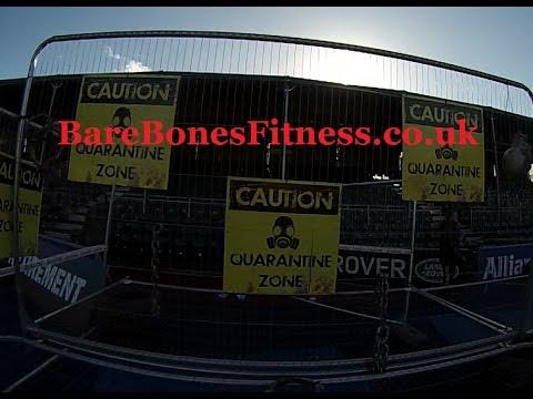 Zombies Evacuation Race London 2014 BareBonesFitness