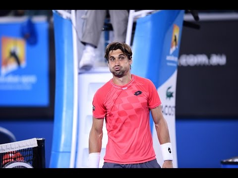David Ferrer vs Gilles Simon Highlights HD Australian Open 2015