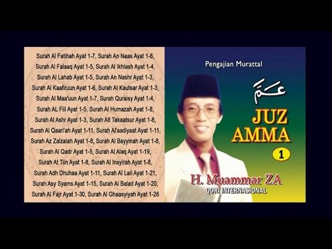 H Muammar ZA - Juz Amma Vol.1 (Full Album)