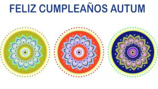 Autum   Indian Designs - Happy Birthday