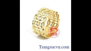 Nhẫn kim tiền tấn lộc, nhẫn kim tiền tài lộc, TSVN018876