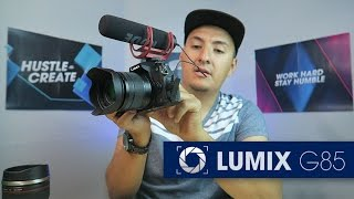 PANASONIC G85 REVIEW WITH TEST FOOTAGE