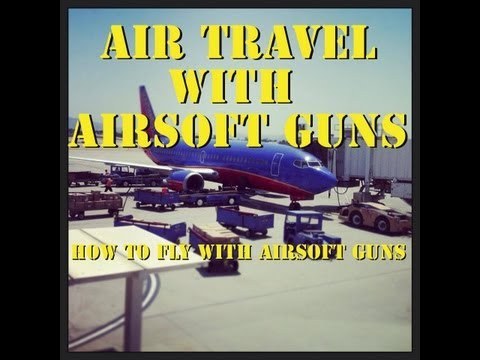 Air Travel with Airsoft Guns. How to fly with airsoft guns with Jet DesertFox
