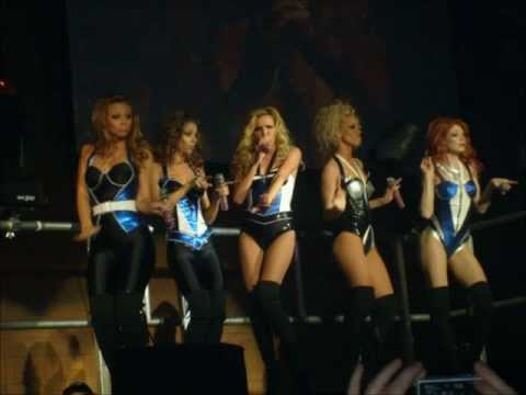 Girls Aloud - Tour Pics - Sexy No! No! No!