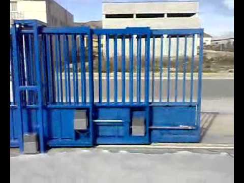 Puertas correderas motorizadas