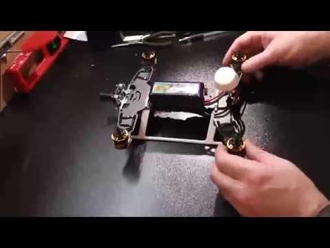 Tarot 250 mini quadcopter build and review.