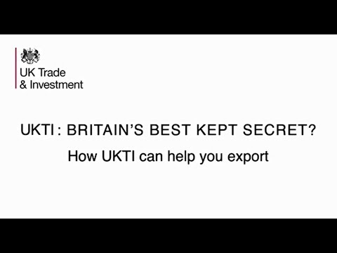 How UKTI helps UK companies export