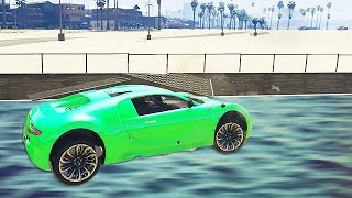 GRINDING WITH FAST CARS! (GTA 5 Funny Moments)