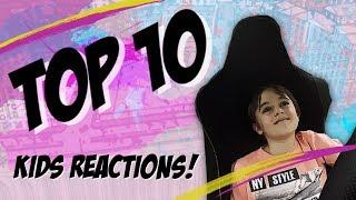 Kids React to a MCLAREN! Top 10 EPIC Reactions!
