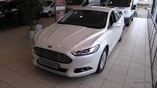 Ford Mondeo 2015 In Depth Review Interior Exterior
