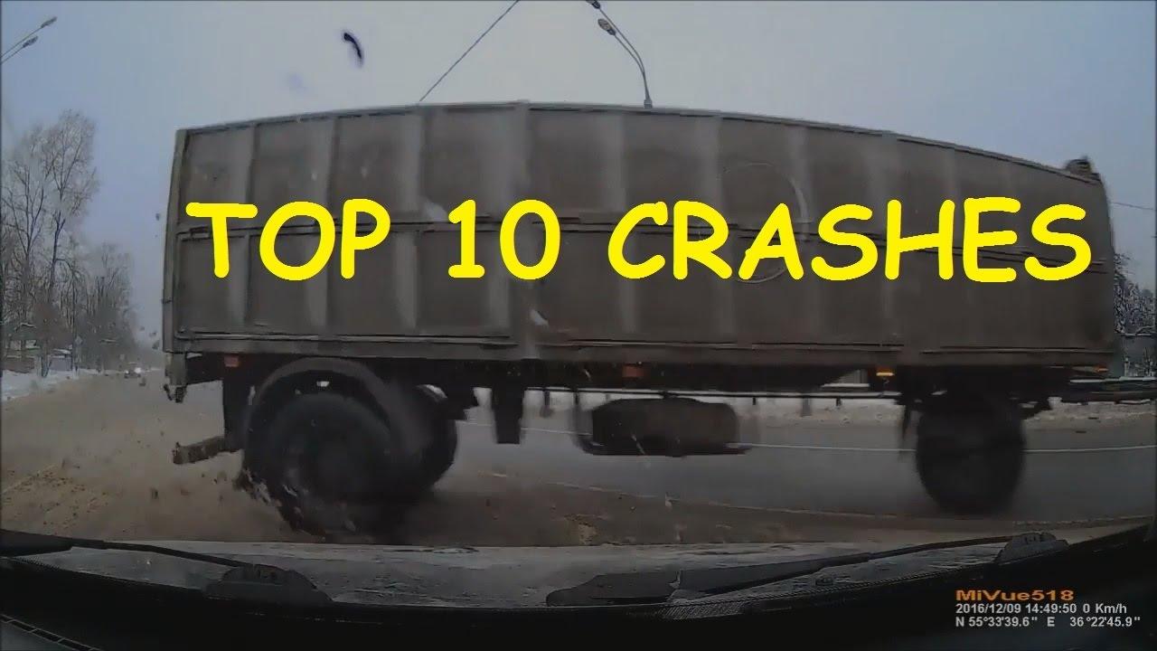 TOP 10 Crashes CAR CRASH COMPILATION 4 01 2017