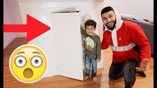 REVEALING OUR MINI SECRET ROOM!!! *FINALLY*