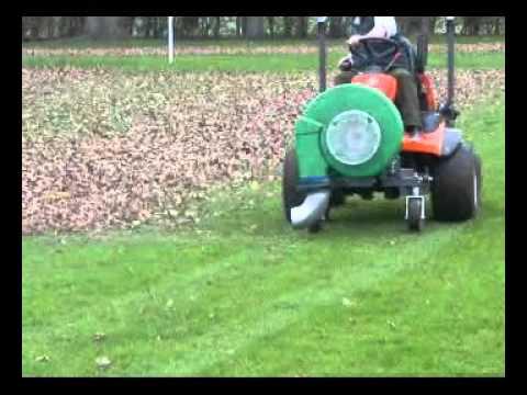 Kubota Tractor Leaf Blower