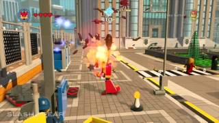 The LEGO Movie Videogame Unikitty gameplay Free Play