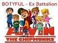 BOOTYFUL - Ex Battalion ft. JRoa, Emcee Rhenn, Flow-G, Brando & Bosx1ne (THE CHIPMUNKS COVER )