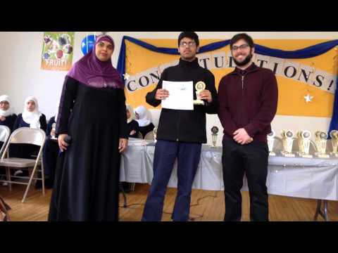 Science fair & spelling bee award ceremony - Andalusia Islamic School 2015