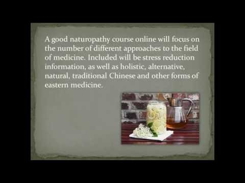 Online naturopathy courses