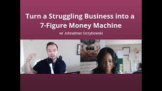 TURN A STRUGGLING BUSINESS INTO A 7 FIGURE MACHINE - FAST!