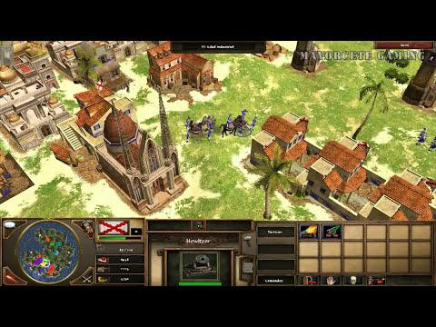 JUGANDO Age of Empires III -