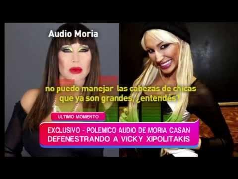 """Moria Casán: """"Vicky necesita un psicólogo, es adicta a la necesidad de verse"""""""
