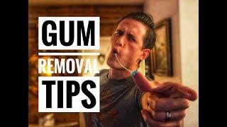 How carpet pros remove gum (new secret for auto detailing?)
