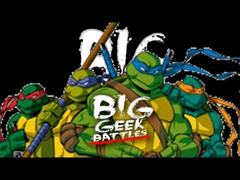 WWE 13 Battle Of The Teenage Mutant Ninja Turtles Match! BKBN.net Big Geek Battles!
