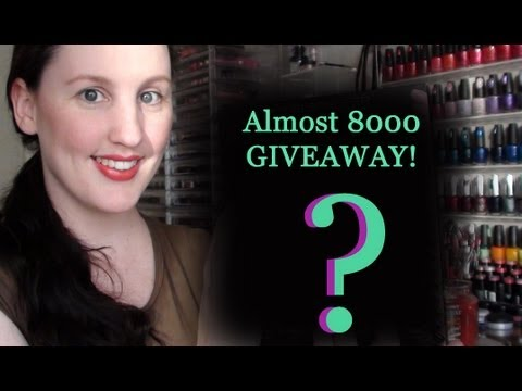 ** CLOSED *** Surprise! Almost 8000 Subscribers Giveaway!