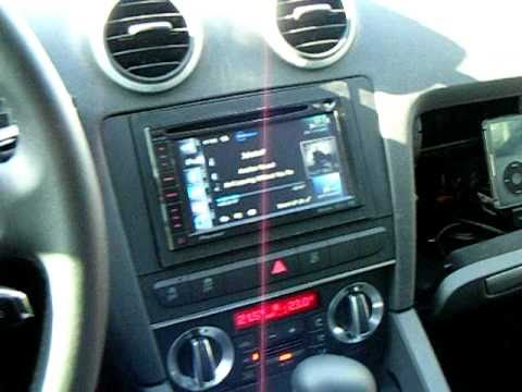Audi A3 Avicf920bt Pioneer Youtube