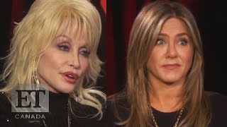 Jennifer Aniston Reacts To Dolly Parton S Husband S Offer