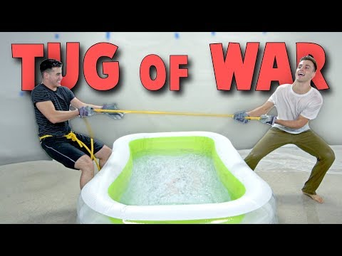Tug Of War Ice Bath Face Off