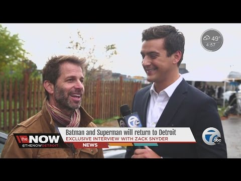 'Batman v. Superman' director Zack Snyder says more movies coming to Michigan