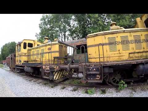 Lost Places - Der Eisenbahnfriedhof
