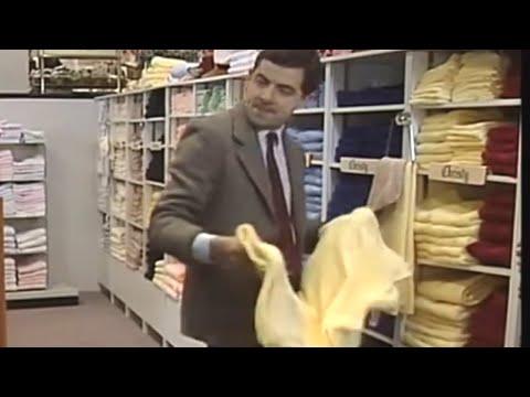 Mr. Bean - Towel Shopping